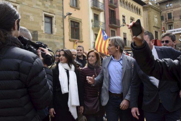 18 Abril 2019 -Cataluña - Vic - Recorrido Inés <HIT>Arrimadas</HIT> - Foto Marga Cruz