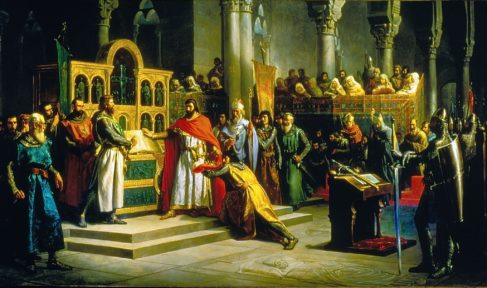 Los misterios de la Historia de España que cuentan los cuadros del Senado
