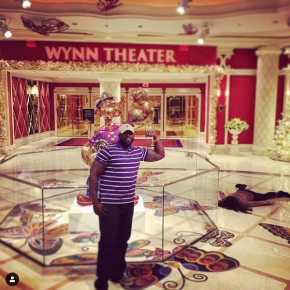 'Stef muere con Popeye y su postureo'. Hotel casino Wynn, Las Vegas.