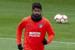 Diego Costa aparca la rebelión y vuelve a entrenarse