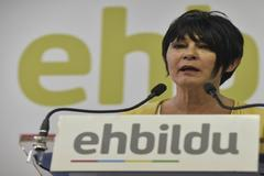Maddalen Iriarte, en un acto de EH Bildu.