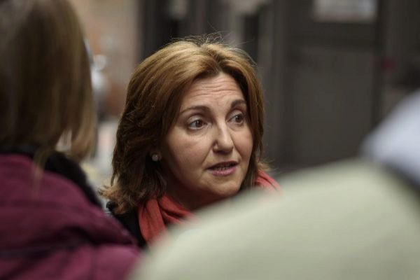 Pilar Garrido, candidata de Gipuzkoa de Elkarrekin Podemos.