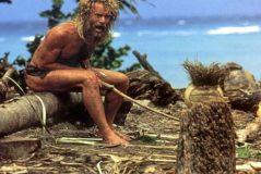 Fotograma de la película 'El náufrago' (2000), protagonizada por el actor Tom Hanks.