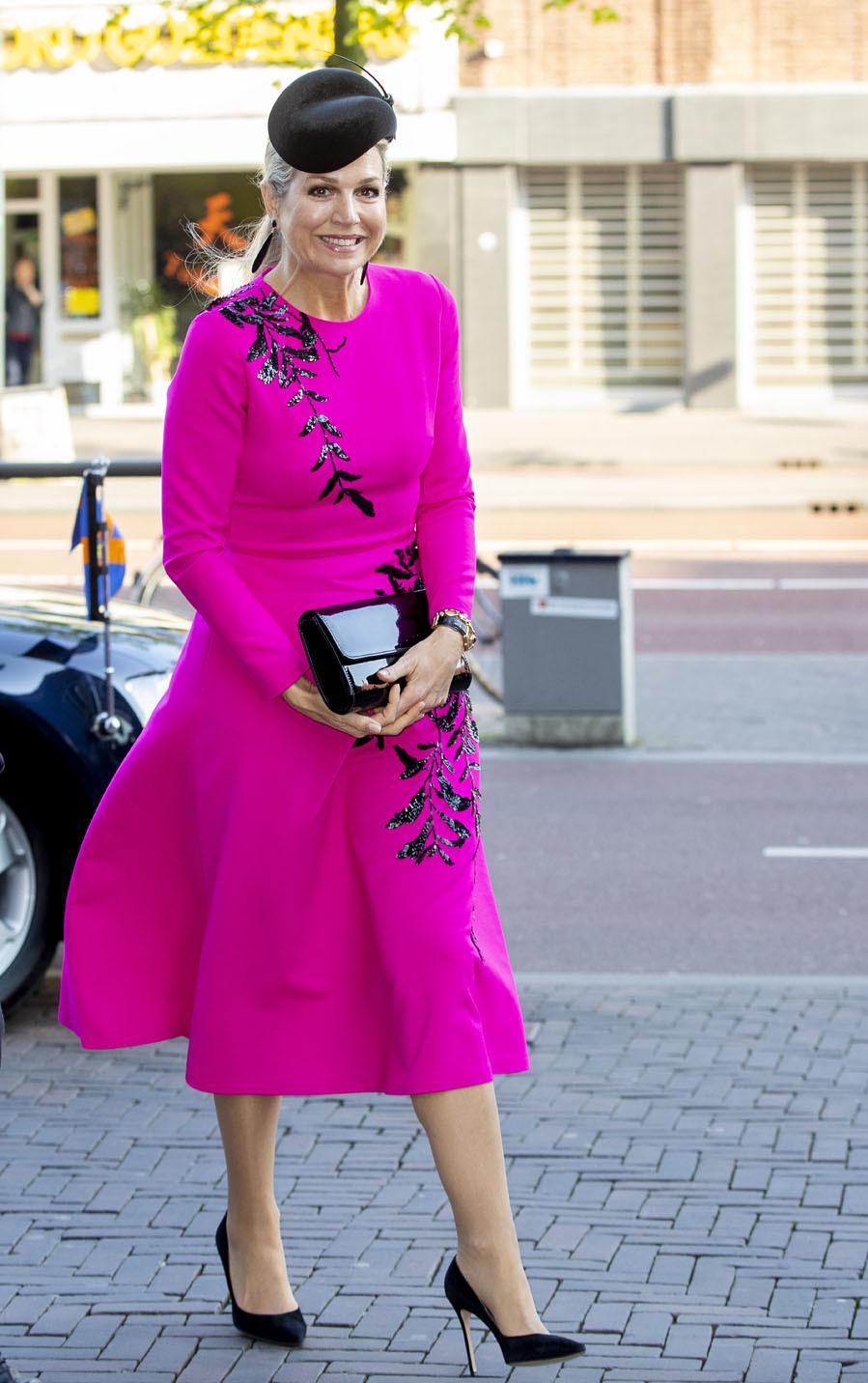 Las mejor vestidas de la semana - Máxima de Holanda