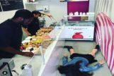 'Stef muere en la donuter�a'. Dum Dum Doughnuts.