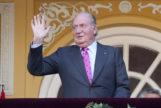 Don Juan Carlos, en el palco de Las Ventas, con la corbata