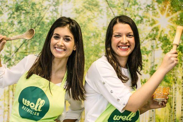 Ana Sirvent y Elena Haro, de la empresa Well Nutrición.
