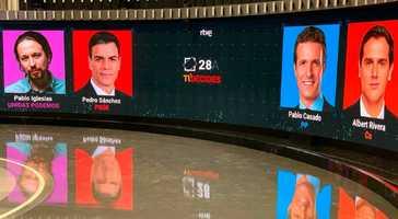 Así será el debate en RTVE: abrirá  Rivera y cerrará  Sánchez