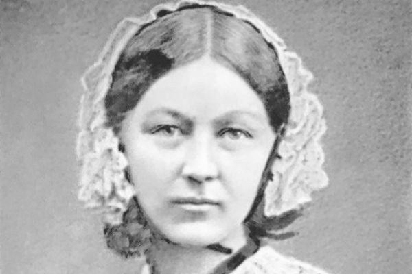 Retrato de Florence Nightingale.