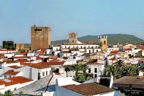 Imagen del pueblo de Olivenza.