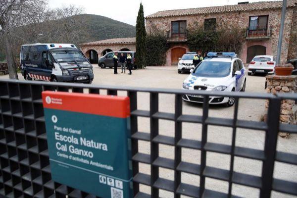 Imagen de un centro de menores en el que hay extranjeros no acompañados que fue asaltado hace unas semanas