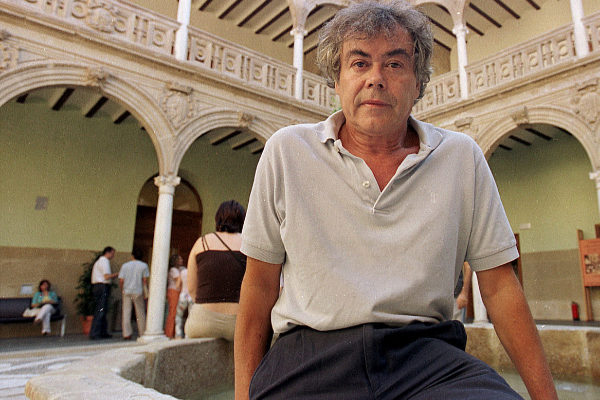 Salvador Compán en un pasado acto en la sede Antonio Machado de Baeza.