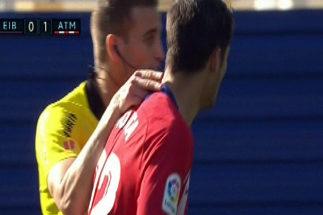 """¿Dio el árbitro una colleja a Morata? """"A mí me cayeron cuatro partidos por eso"""""""