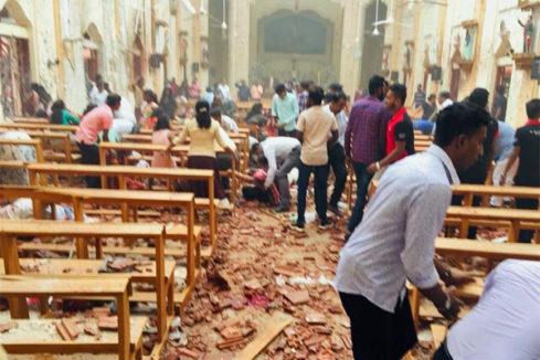 Al menos 207 muertos, 27 de ellos extranjeros, en ocho explosiones en varias iglesias y hoteles de lujo