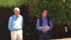 """El SOS de Aznar a los indecisos: """"Si no hay una unificación, se perderán las elecciones"""""""