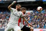 Real Madrid-Athletic: Doblete de Benzema