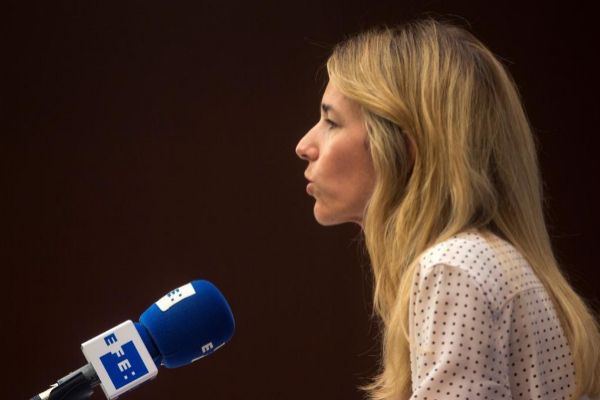 Cayetana Álvarez de Toledo, en un acto reciente.