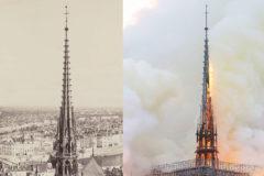 Los secretos de la aguja caída y masona de Notre Dame