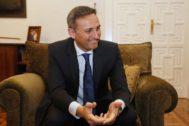 César Sánchez, actual presidente de la Diputación de Alicante y número uno del PP al Congreso por la provincia.