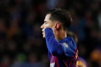 La explicación de Coutinho a su polémico gesto de taparse los oídos en el Camp Nou