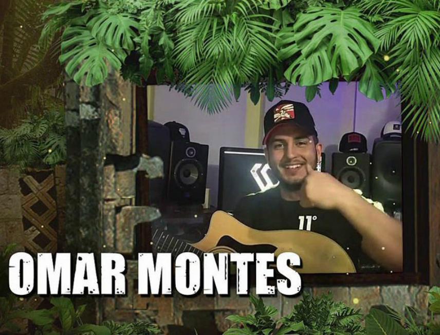 El cantante Omar Montes posa como concursante oficial de Supervivientes 2019, el 'reality' de aventura de Telecinco.