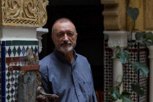 El escritor y periodista Arturo Pérez Reverte.