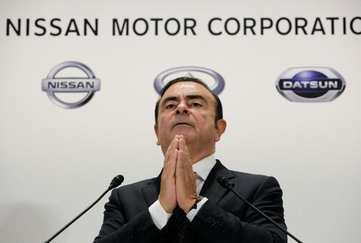 Carlos Ghosn, en su etapa como presidente de Nissan