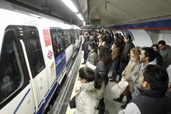 Estación de Metro de la estación de Sol.