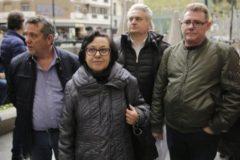 La viuda de Julián Martín, fallecido por el amianto del Metro.