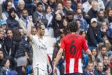 El gesto de Bale tras los pitos del Bernabéu