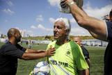 """... Y el jugador más viejo del mundo: """"Puedo seguir hasta los 90 años"""""""