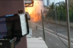 Una furgoneta bomba explota en Sri Lanka