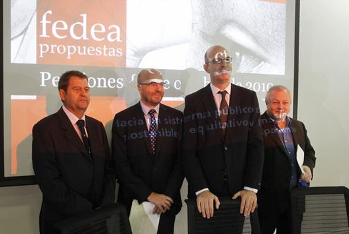 Angel de la Fuente, CSIC. Pablo Vazquez. Universidad Complutense. Sergi Jimenez, Universidad Pompeu Fabra. Javier Diaz, IESE.
