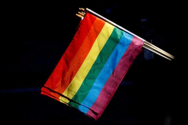 Banderas LGTBI durante la celebración del Orgullo Gay en Nueva York, en junio.