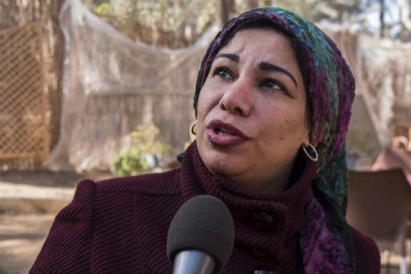 La periodista egipcia Mahasen Sabe.