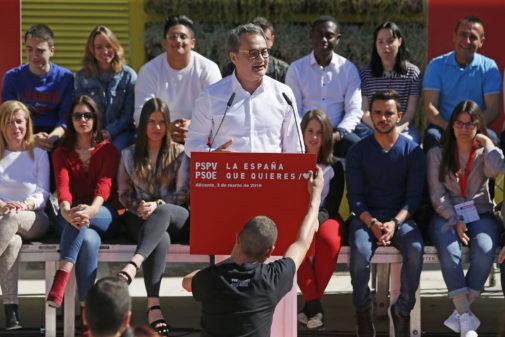 El candidato del PSOE a la Alcaldía de Alicante, en una imagen reciente.