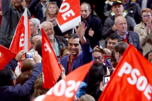 Pedro Sánchez, en un acto del PSOE en Alicante este sábado