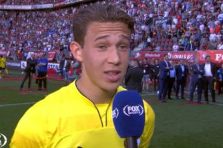 El hijo de Gullit debuta como profesional con 17 años