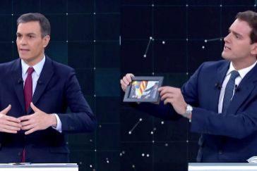 Así ha sido el debate: de los socios de Sánchez a la foto de Colón