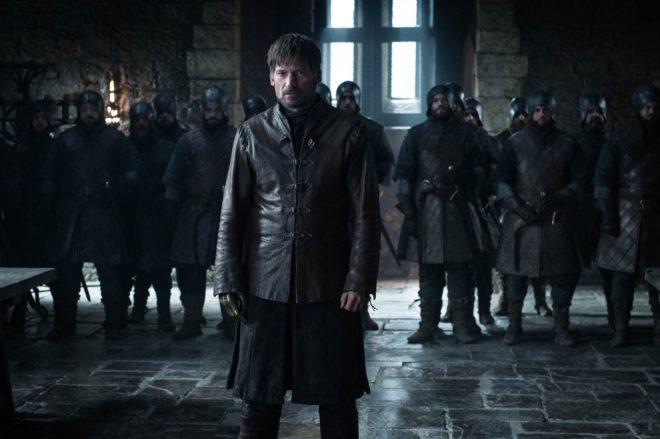 Jaime Lannister (Nikolaj Coster-Waldau) en el episodio 8x02 de Juego de Tronos, en su temporada final