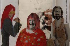 Dos dels treballs reunits a 'Poemario ilustrado... Modernidad y memoria', que partixen de les obres de Carmen Calvo i Juan Muñoz que s'exposen al Maca, dins de la Col·lecció Fundació Caixa Mediterrani.