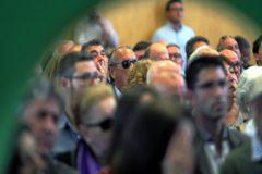 El ex dirigente del PP, Carlos Fabra, en un acto de campaña de Vox