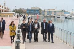 La ministra de Turismo ha visitado este domingo el puerto de Castellón.