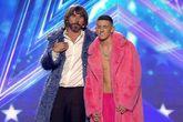 Santi Millán y El Cejas en la cuarta semifinal de Got Talent en...