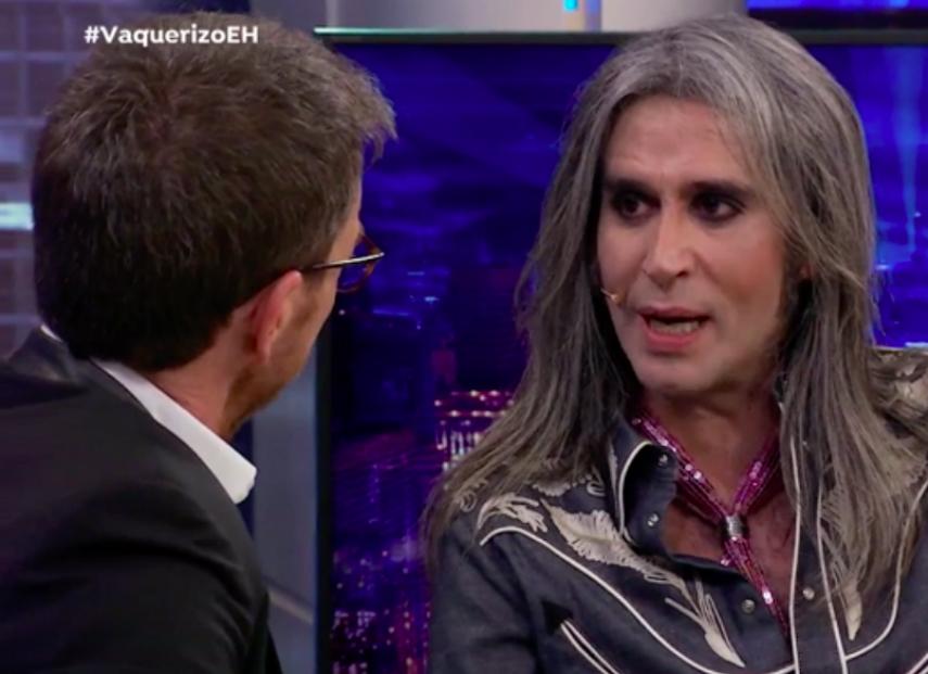 Mario Vaquerizo acude como invitado a El Hormiguero para presentar su libro Cuentos para niños rockeros en el programa de Antena 3 presentado por Pablo Motos.