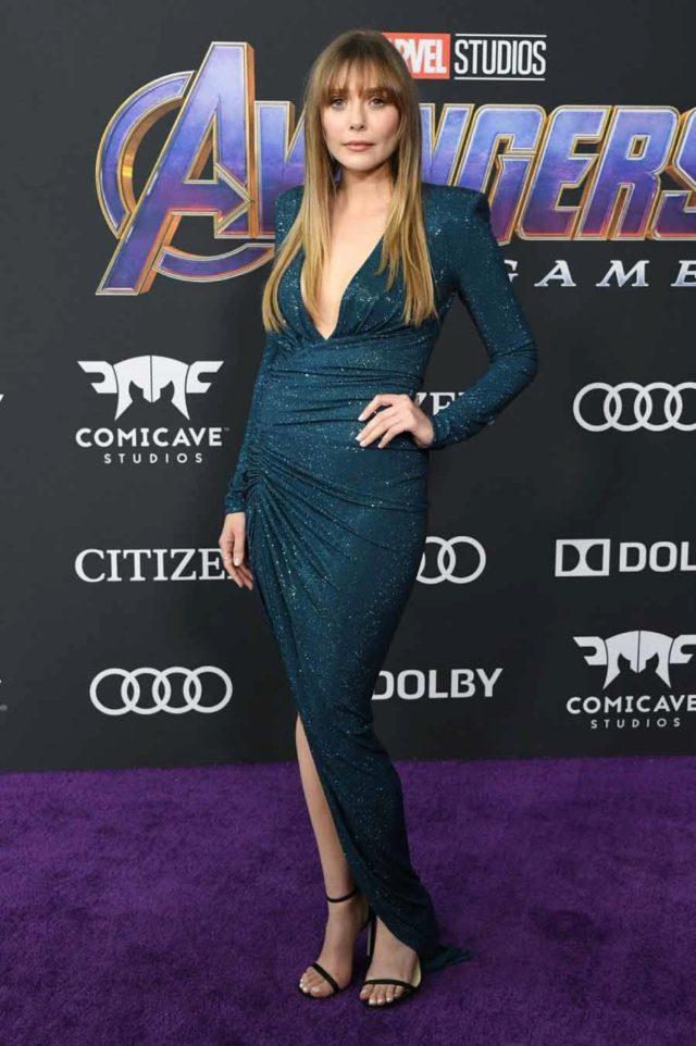 Brie Larson Alfombra roja del estreno mundial de 'Avengers
