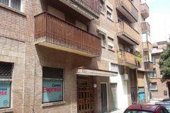 Edificio de la calle de Alonso Heredia donde vivía Amanda.