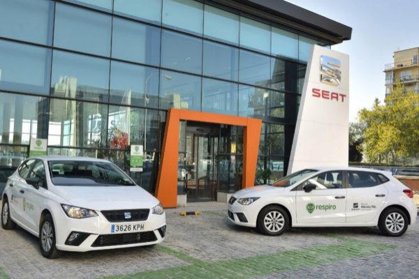 Castellana Motor se une a Respiro, el servicio de coches compartidos de Seat