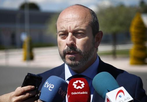 Pedro Rollán, presidente en funciones de la Comunidad de Madrid.