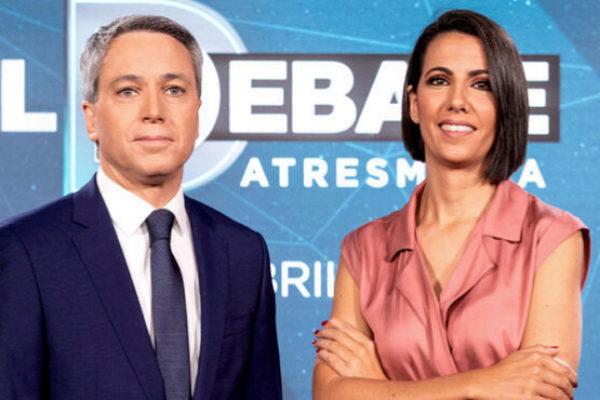 Vicente Vallés y Ana Pastor presentan el debate de Atresmedia